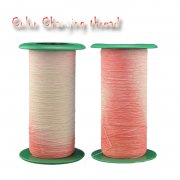 New fashion sunlight color-changing thread